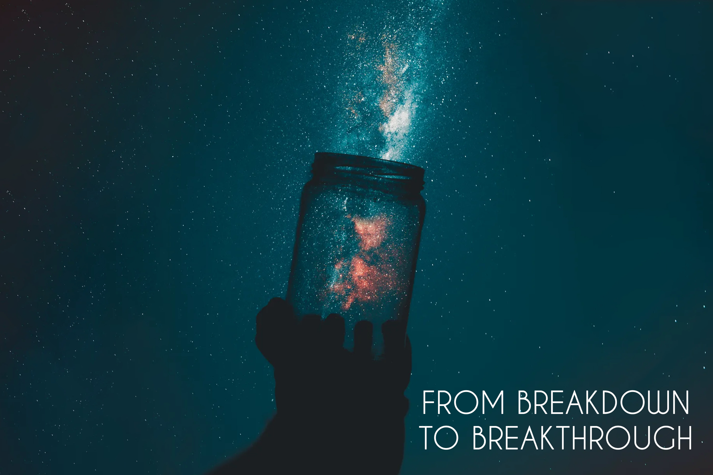 FROM BREAKDOWN TO BREAKTHROUGH - Swami sukhabodhananda