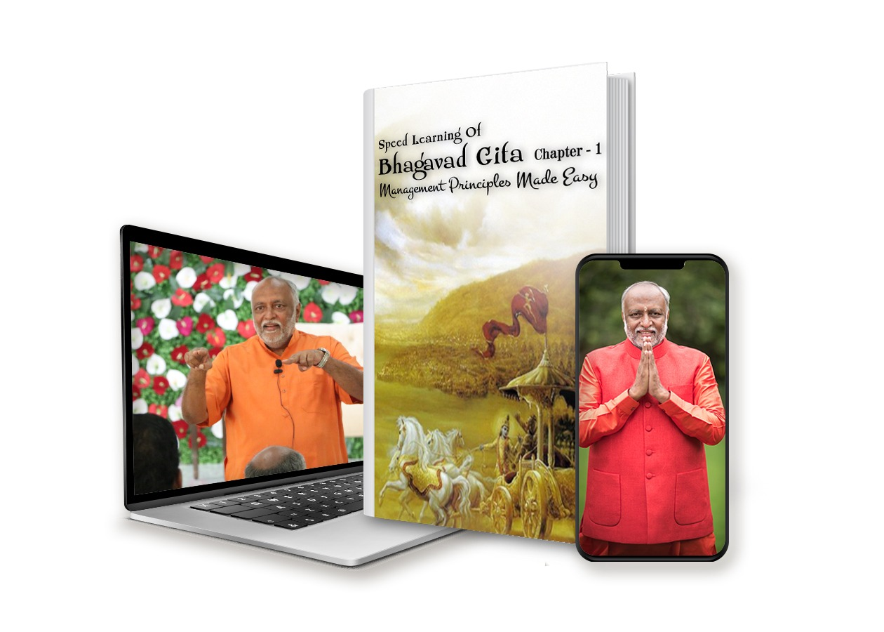 Speed Learning of Bhagavad Gita